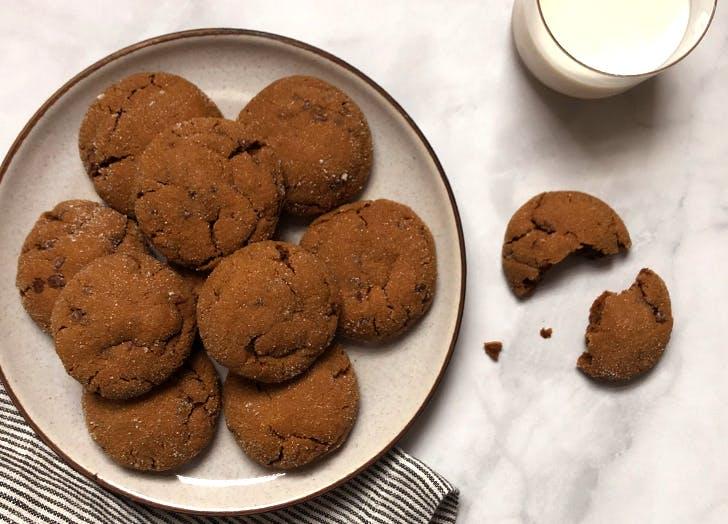 chocolate gingerbread cookies recipe CAT