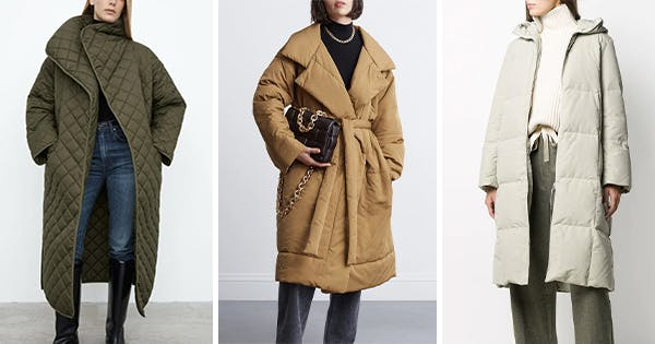 Duvet Coats Are Trending & They're Every Bit as Comfortable as the Blanket on Your Bed