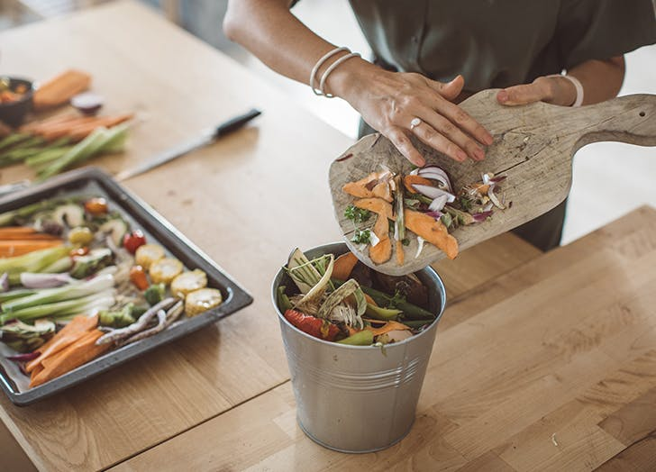 how to compost at home kitchen