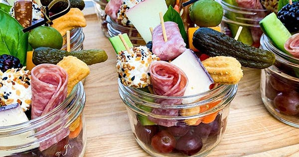 """If You Think Cheese Boards Are Nice, Wait Until You Try """"Jarcuterie"""""""