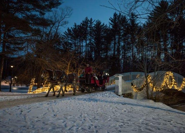 nestlenook farm best christmas destinations