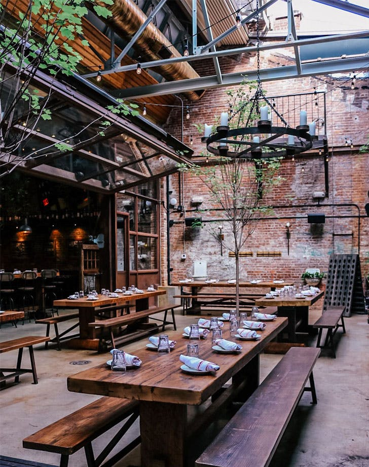outdoor dining nyc ainslie