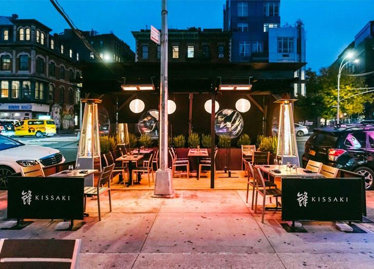 outdoor dining nyc kissaki