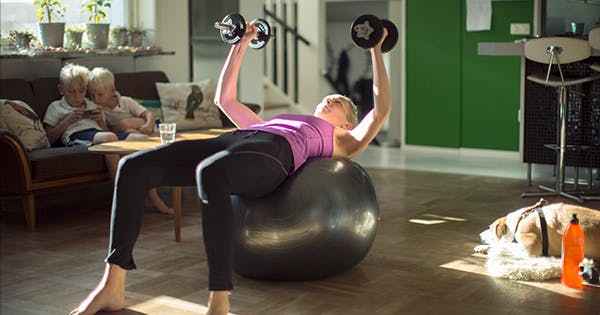 15 Stability Ball Exercises That Burn Out Every Major Muscle Group (Plus Some Cardio, Just for Fun)