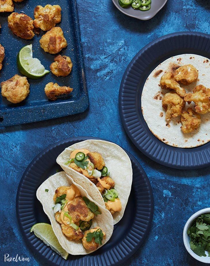 taco recipe ideas Crispy Cauliflower Tacos Recipe