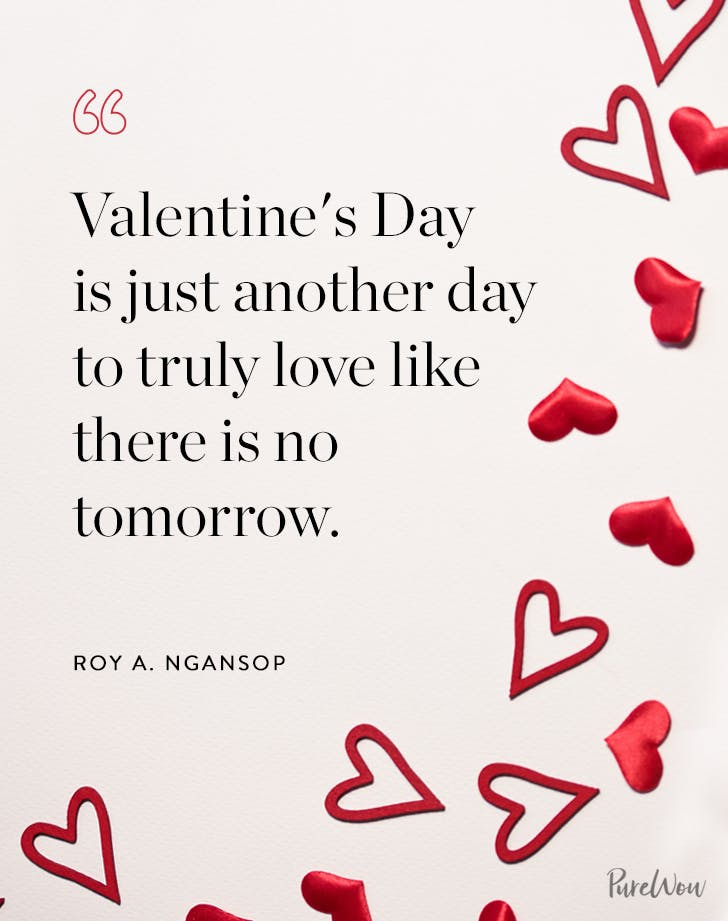 45 Best Valentine S Day Quotes And Romantic Sayings Purewow