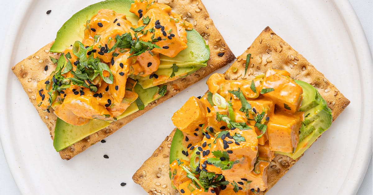5 Satisfying Snack Recipes To Make With Wasa Crispbread Purewow