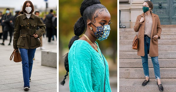 8 Ways to Match Your Face Mask to Your Outfit This Winter