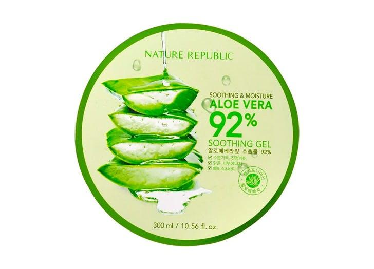 best aloe vera gel Nature Republic  Soothing   Moisture Aloe Vera 92  Soothing Gel