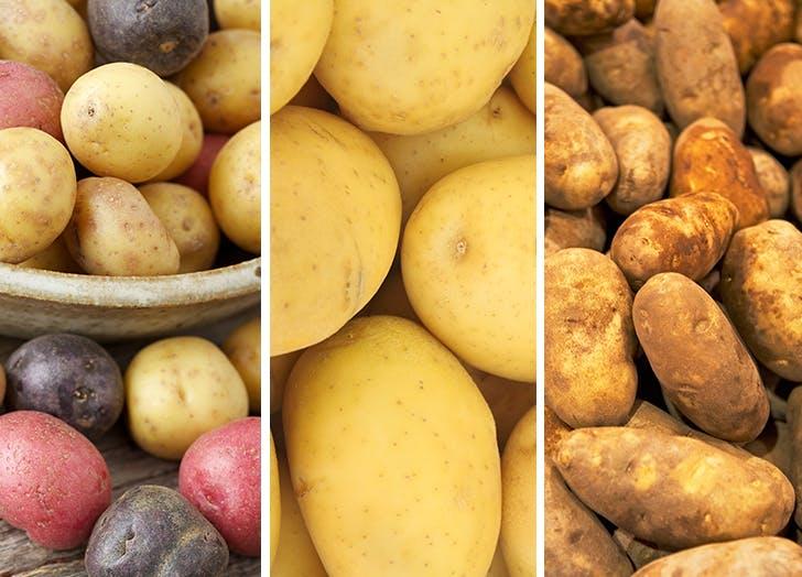 best potatoes for potato salad three types
