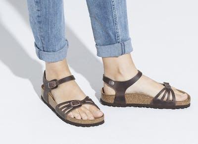 birkenstock bali leather sandals