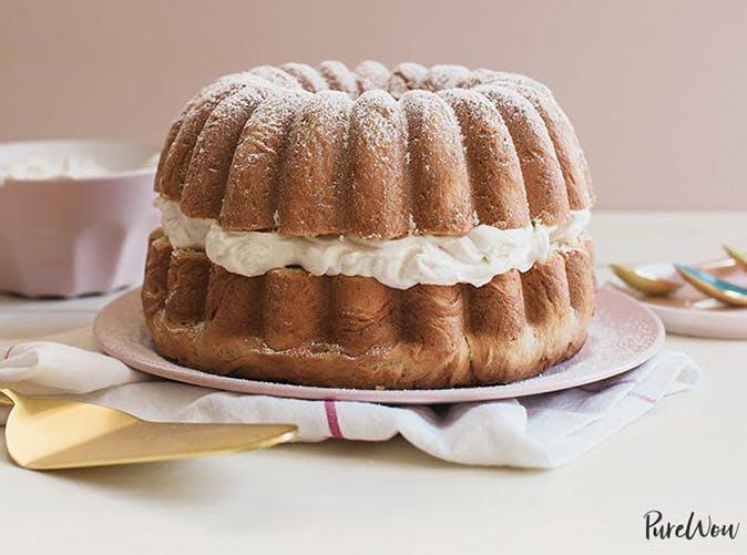 easter desserts bundt cake recipe cardamom cream filled