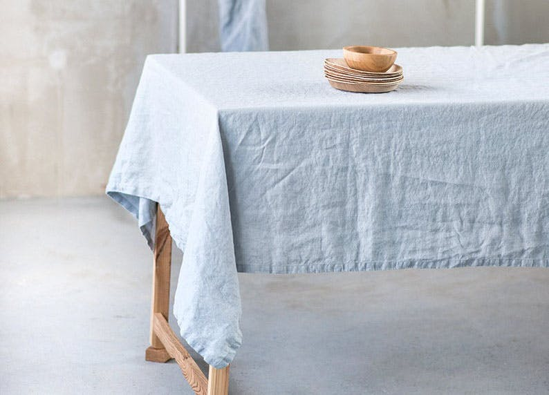 etsy color of year sky blue linen