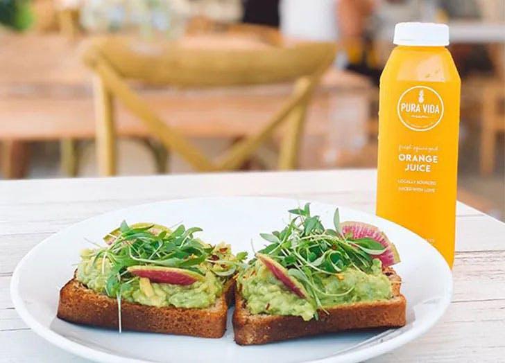 healthy restaurants miami pura vida