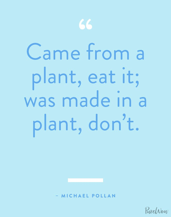 healthy eating quotes michael pollan