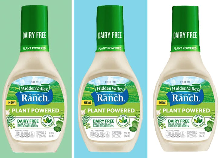 Hidden Valley Is Releasing Vegan, Dairy-Free Ranch Dressing for All Your Plant-Based Dipping Needs