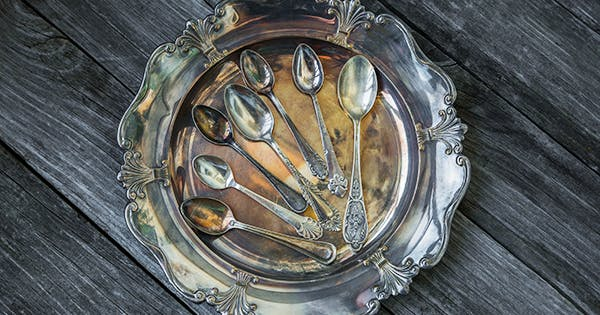 How to Clean a Silver Plate (and Every Other Silver Item You Own) with Baking Soda
