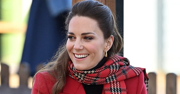 Kate Middleton Just Rewore Her Christmas Dress (& Showed Off Her New Hairstyle)