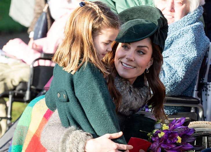 It Turns Out Kate Middleton & Princess Charlotte Love Hunting for Spiders