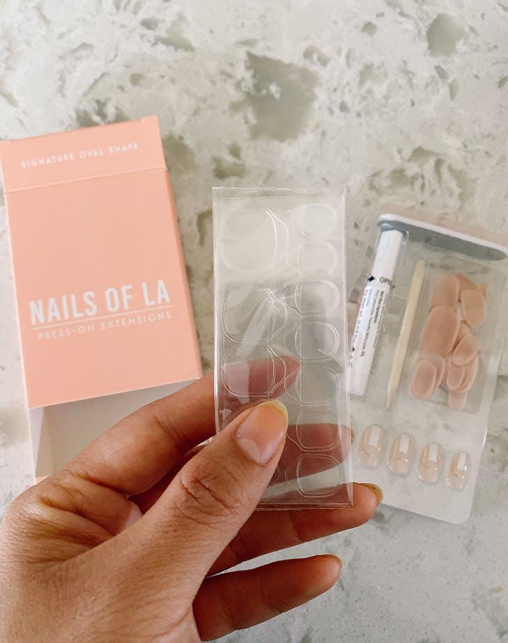 nails of la press on nails review 1