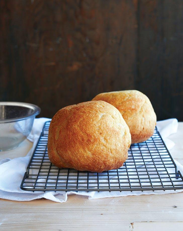 6-Ingredient Peasant Bread