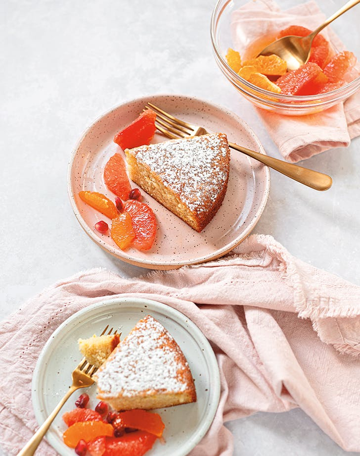 Orange Flower Olive Oil Cake