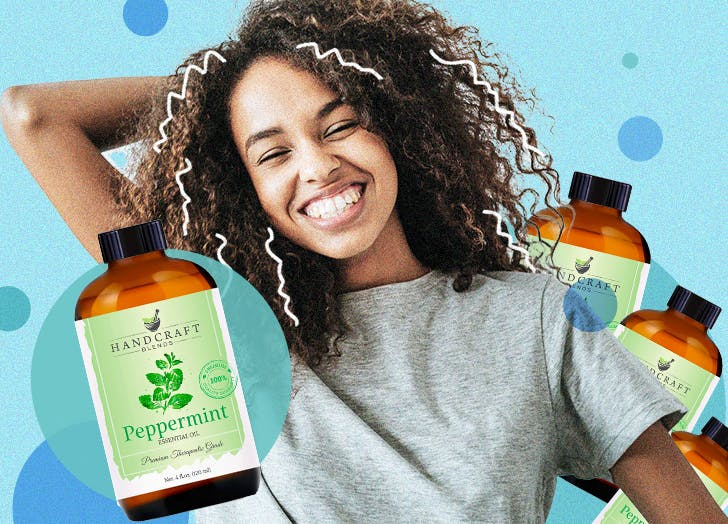 peppermint oil for hair growth cat