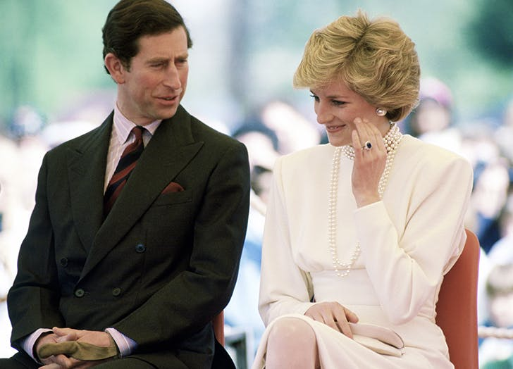 princess diana ring event with prince charles