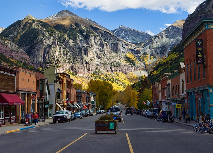 small towns in colorado Telluride