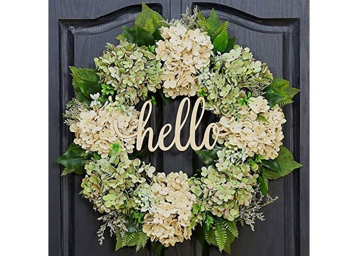Spring Wreath Vibrant Floral Wreath Grapevine  Wreath Silk Floral Wreath Summer Wreath Floral Front Door Wreath Door Decor Grapevine