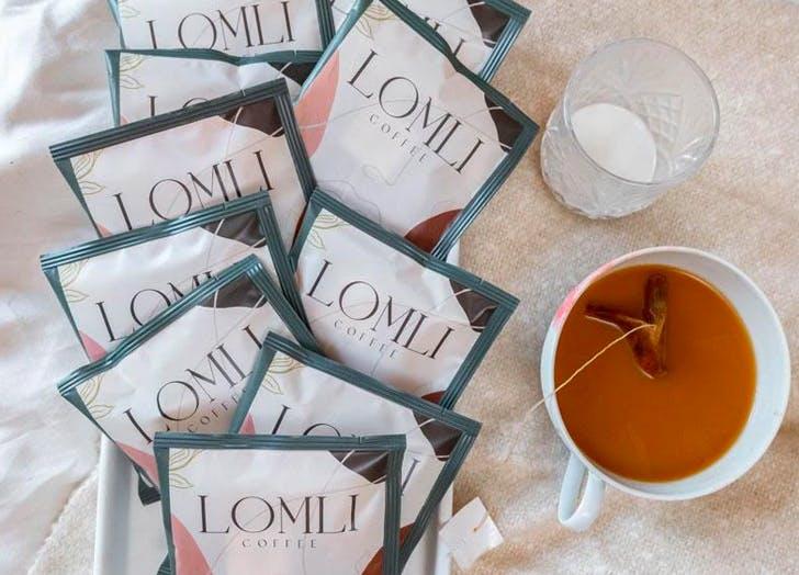 steeped coffee lomli coffee