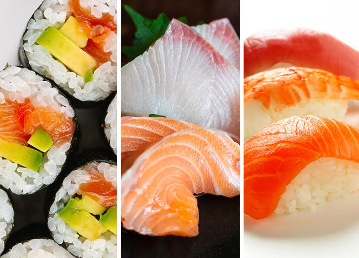 sushi for beginners types of sushi