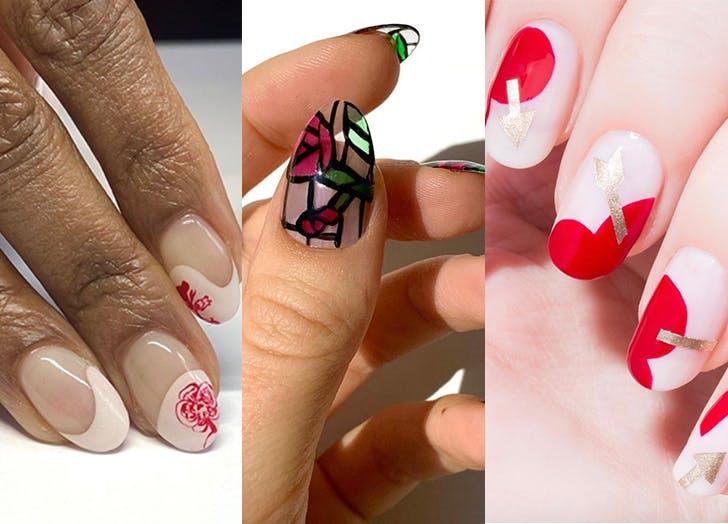 30 Best Valentine S Day Nail Art Ideas For 2021 Purewow