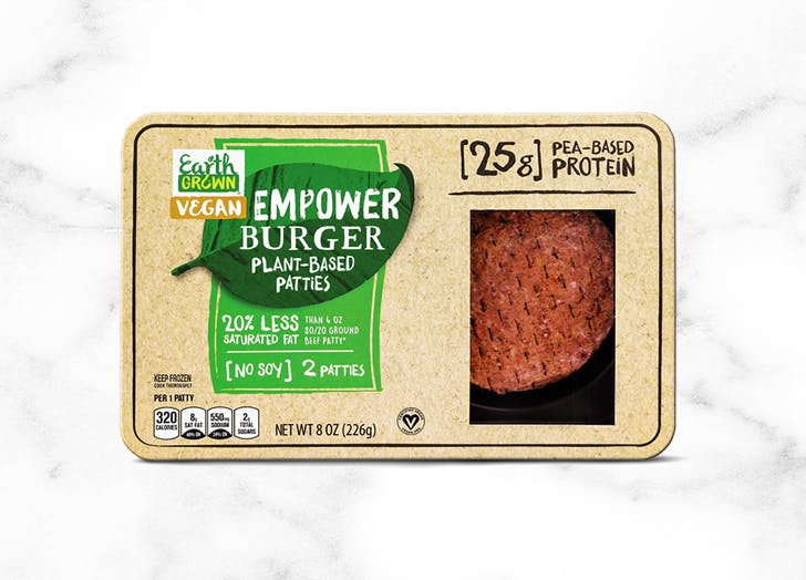 what to buy at aldi Earth Grown Empower Burger