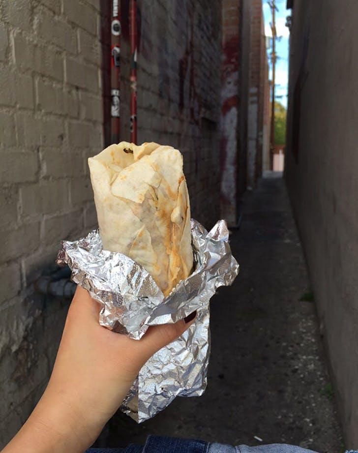 best breakfast burritos in los angeles tacos villa corona