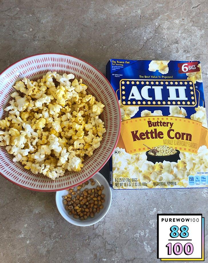 best microwave popcorns act ii buttery kettle corn