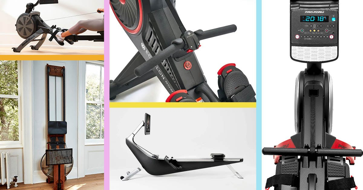 The 12 Best Rowing Machines for Your Home Gym (Or Living Room), Starting at Just $85