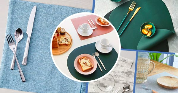 The 21 Best Placemats to Dress Up Your Dining Space (And Protect Your Dining Table)