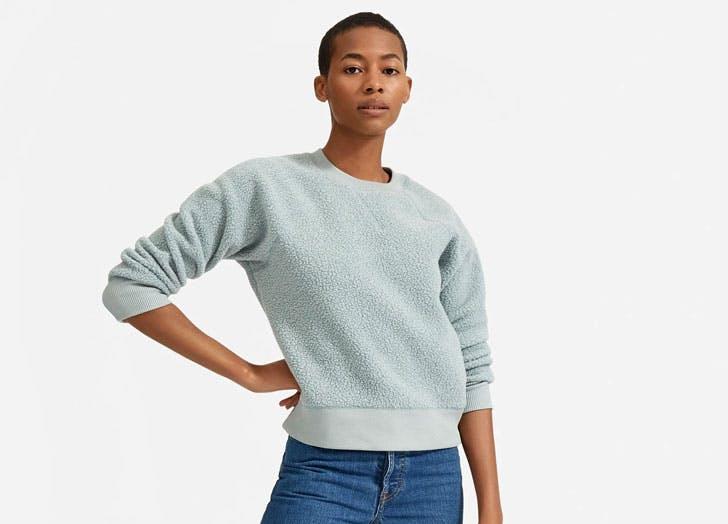 dressy sweatshirts everlane