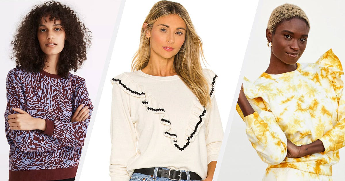 14 Dressy Sweatshirts That Will Elevate Any Type of Loungewear