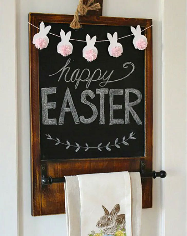 easter crafts for kids easter bunting