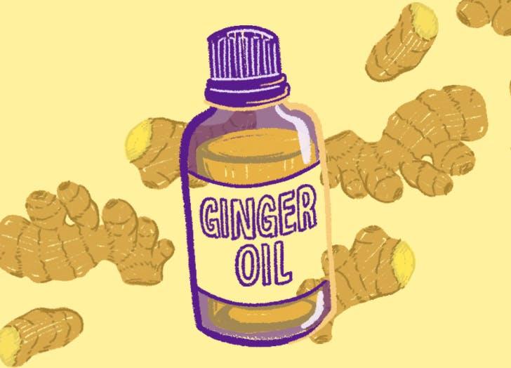 ginger oil uses