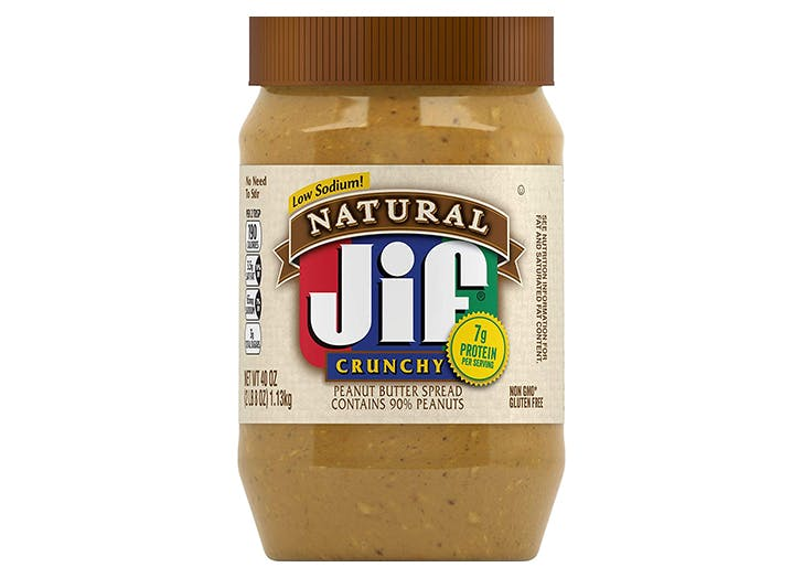 healthy peanut butter jif natural