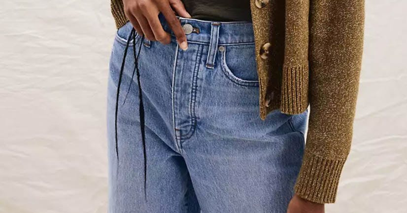 Madewell's Newest Jean Launch Is Making a Solid Case For Replacing Your Sweatpants