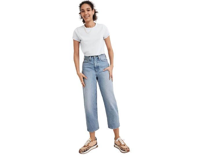 madewell balloons jeans denim
