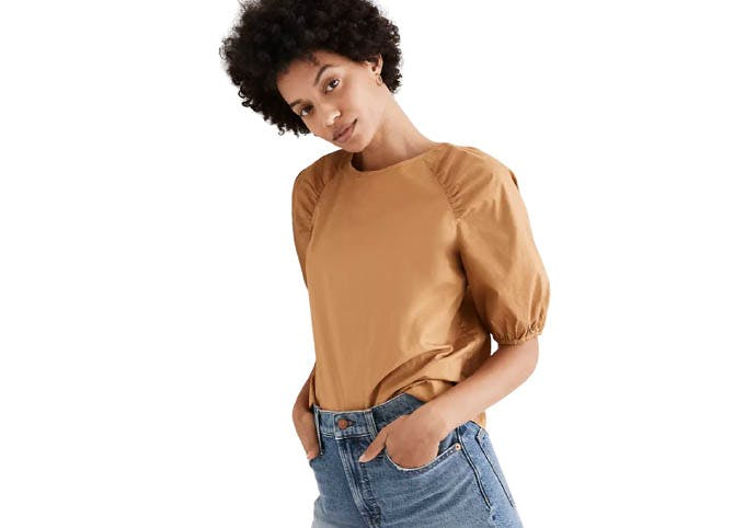 madewell sitewide sale gathered top