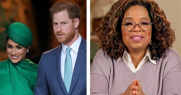We Have a First Look at Oprah's Tell-All Interview with Meghan Markle & Prince Harry
