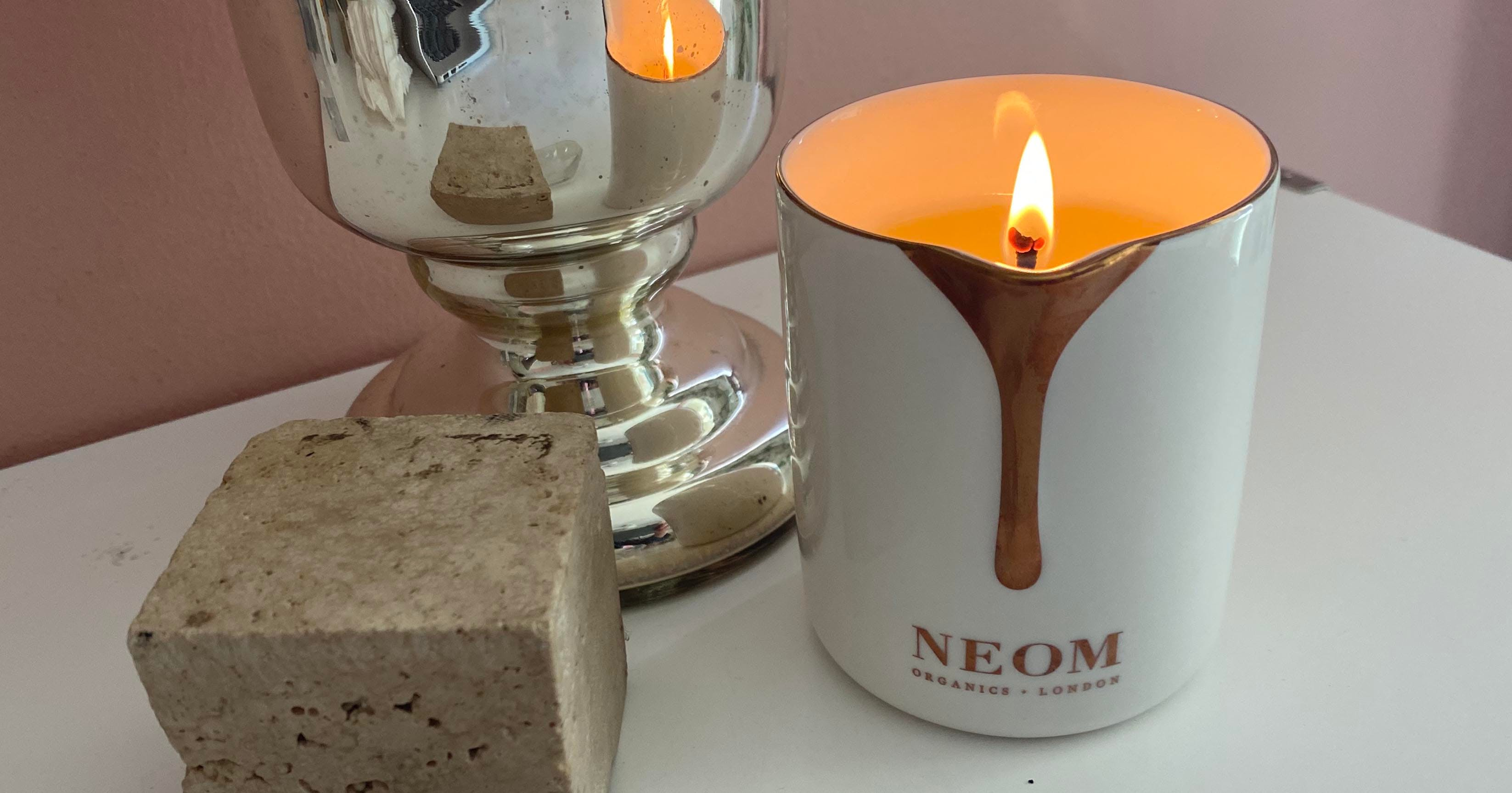 This Neom Organics Candle Pours Warm Scented Oil and My Winter-Chapped Skin Is So Here for It
