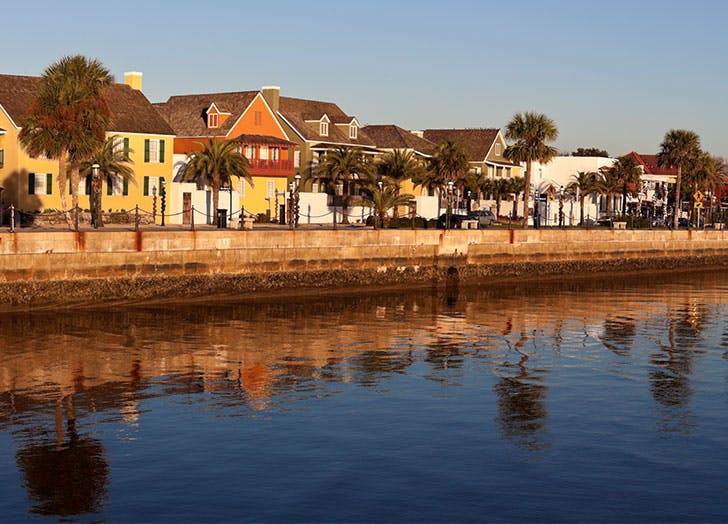 small towns in florida st augustine