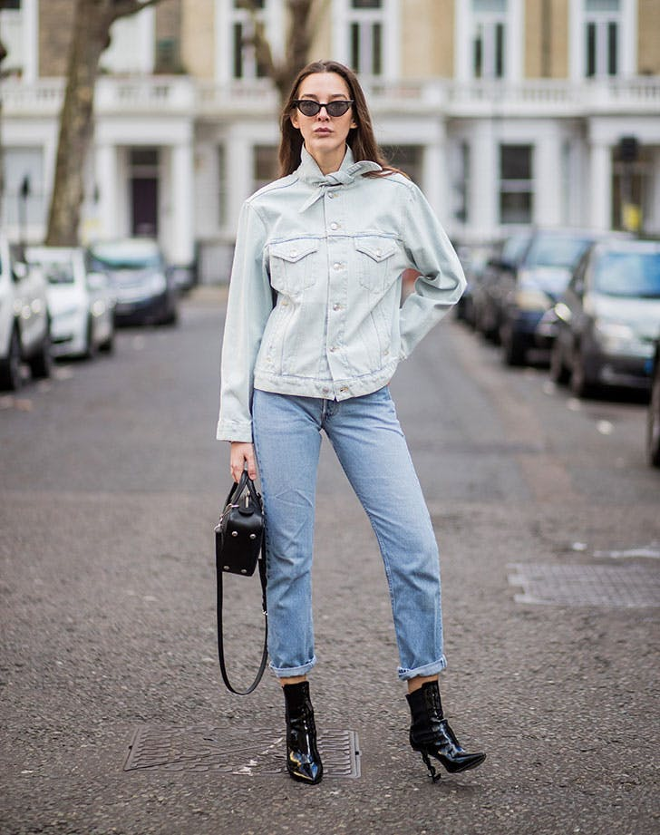 styling tips short women show some ankle